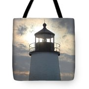Pemaquid Lighthouse - The Tower  Tote Bag