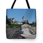 Pemaquid Point Light House Tote Bag