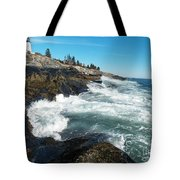 Pemaquid Point Lighthouse 1 Tote Bag