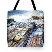 Pemaquid Rocks Tote Bag