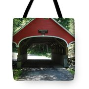 Pemigewasset River Bridge Tote Bag