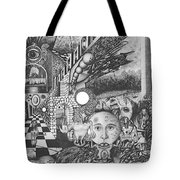 Pen And Ink World 1 Tote Bag