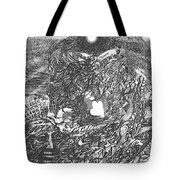 Pen And Ink World 2 Tote Bag