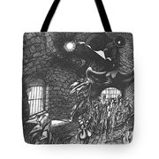 Pen And Ink World 5 Tote Bag