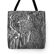 Pen And Ink World 8 Tote Bag