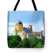 Pena Palace In Sintra Tote Bag