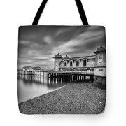 Penarth Pier 1 Mono Tote Bag