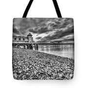 Penarth Pier 2 Mono Tote Bag