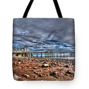 Penarth Pier 7 Tote Bag