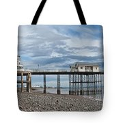 Penarth Pier Panorama 1 Tote Bag
