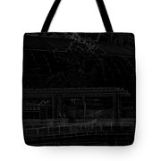 Pencil - Office Of The Singapore River Cruise Of The Marina Bay Sands Hot Tote Bag
