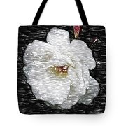 Pencil A Rose Tote Bag