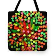 Pencil Blossom Tote Bag