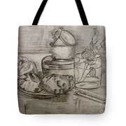Pencil Still-life. Tote Bag