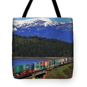 Pend Oreille Freight Tote Bag