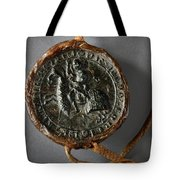 Pendent Wax Seal Of The Council Of Calahorra Tote Bag