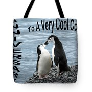 Penguin Anniversary Card Tote Bag