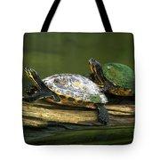 Peninsula Cooter Turtles Tote Bag