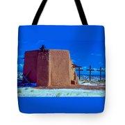 Penitente Morada Christian Church At Abiquiu New Mexico Tote Bag