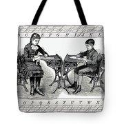 Penmanship Tote Bag by Daniel Hagerman