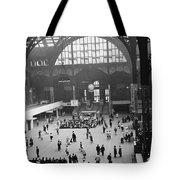 Penn Station Nyc 1957 Tote Bag