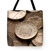 Pennies Sterling Full Frame Tote Bag
