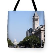 Pennsylvania Avenue Tote Bag
