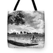 Pennsylvania Farm, 1795 Tote Bag
