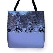 Pennsylvania Snowy Wonderland Tote Bag