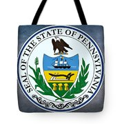 Pennsylvania State Seal Tote Bag