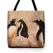 Penquin Family Tote Bag