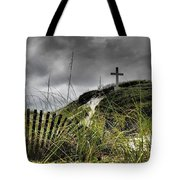 Pensacola Beach Cross Tote Bag