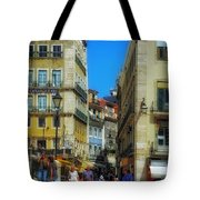 Pensao Geres - Lisbon 2 Tote Bag by Mary Machare