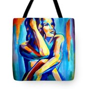 Pensive Figure Tote Bag