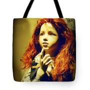 Pensive Mannequin Tote Bag