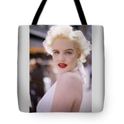 Beauty Of Marilyn Monroe Tote Bag