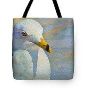 Pensive Seagull Tote Bag