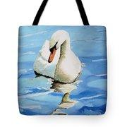 Pensive Swan Tote Bag