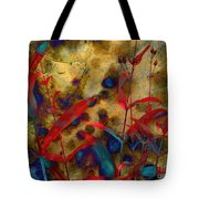 Penstemon Abstract 2 Tote Bag