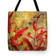 Penstemon Abstract 4 Tote Bag