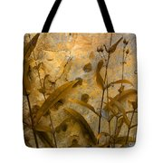 Penstemon Abstract 6 Tote Bag
