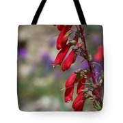 Penstemon Tote Bag by Kathy McClure