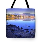 Penticton Reflections Tote Bag