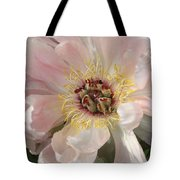 Peonie In Soft Pink Tote Bag