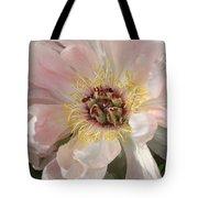 Peonie In Soft Pink Tote Bag