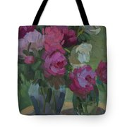 Peonies In The Shade Tote Bag