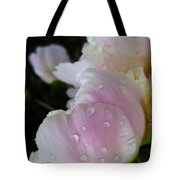 Peony Blossom After A Rain Tote Bag