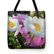 Peony Garden Tote Bag