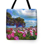Peony Heaven Tote Bag by Jane Small