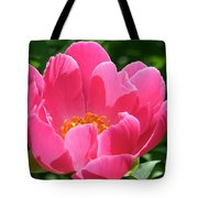 Peony Perfection Tote Bag
